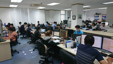 ベトナム現地法人で設計のアウトソーシングを開始しました
